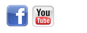 Facebook & YouTube Icons